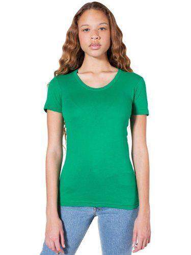 American Apparel Sheer Jersey Short Sleeve Women S Summer T