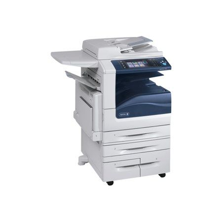 Xerox Workcentre 7556 Hct Multifunction Printer Color White