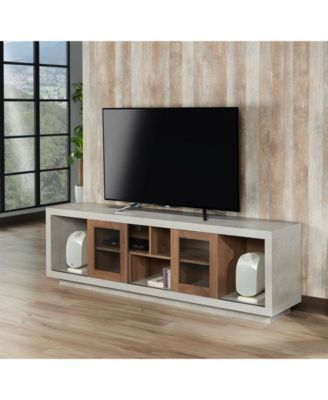 Furniture Of America Oonx Industrial Tv Stand Reviews Home