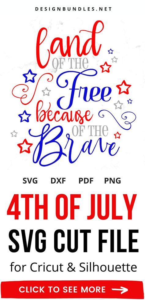 4th of July Cricut SVG Files
