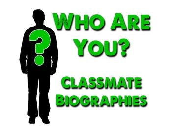 Who Are You Classmate Wikipedia Biographies Writing A Biography Non Fiction Writing Biography