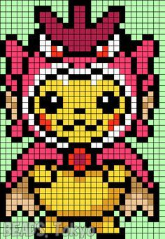 Pixel Art Pikachu Costume Pinterest Hashtags Video And Accounts