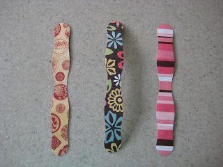 wooden lollipop sticks:bracelet