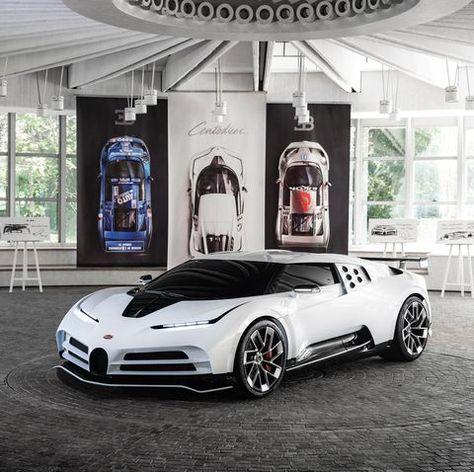 The New $8.8 Million Bugatti Centodieci Is a Retro '90s