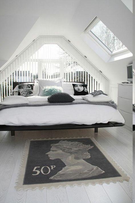Gemutliches Schlafzimmer Im Keller Einrichten Einrichten Teppich