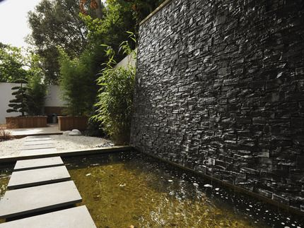 mur deau exterieur jardin recherche google maison idee pinterest - Mur D Eau Exterieur