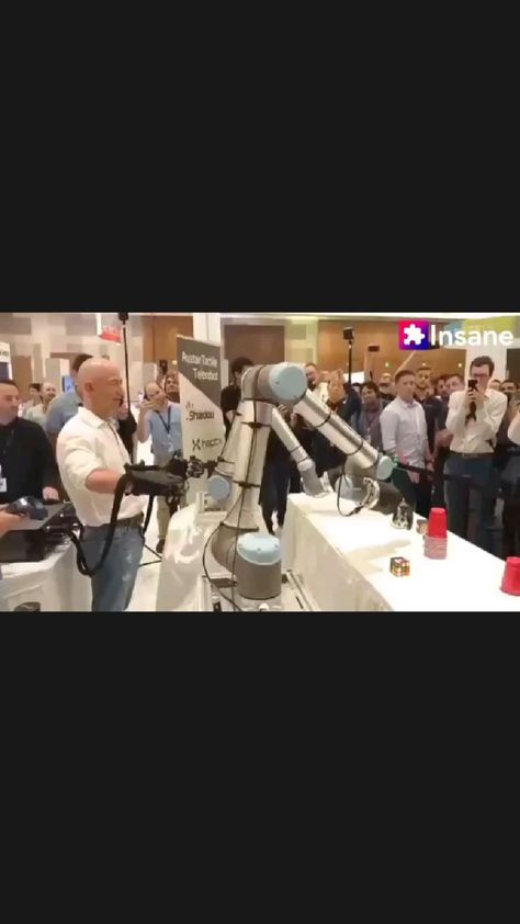 😲 Tactile Telerobot - World's First Haptic Tele Robotic System (Jeff Bezos aka Thanos is back 😂)