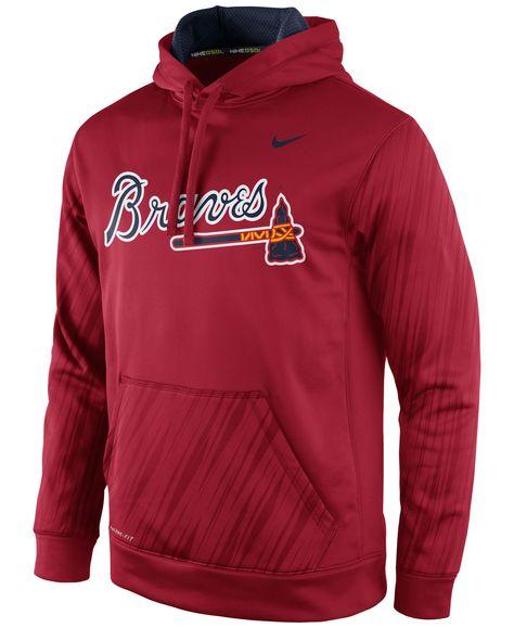 c170ceaff1098 Nike Men's Atlanta Braves Speed Ko Hoodie   Products