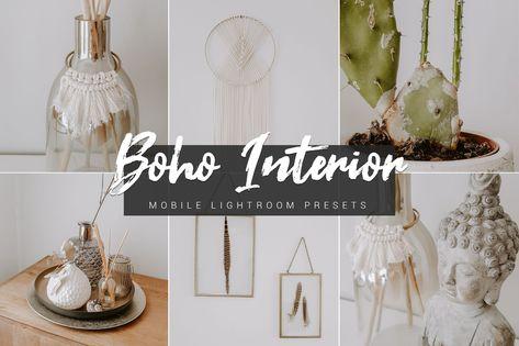 6 Boho Interior Smartphone Filter Fur Die Lightroom App