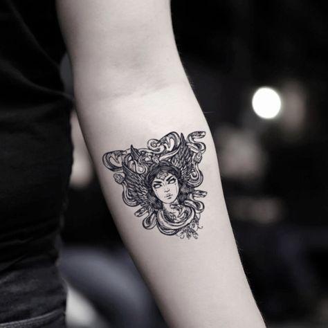 Medusa Temporary Tattoo Sticker (Set of 2)