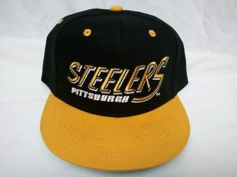 dca4b38a3f5 New NFL Pittsburgh Steelers Two Tone Vintage Snapback Flatbill Cap ...