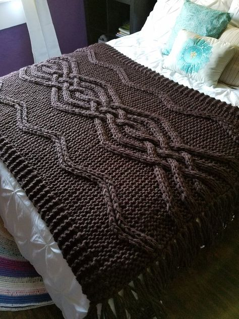 NEW Mei Cable Knit Blanket Made-To-Order
