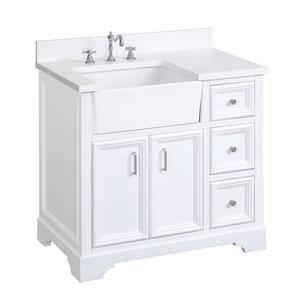 32+ 36 inch bathroom vanity with quartz top type