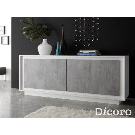 Aparador Fly blanco | Muebles salon modernos, Muebles para