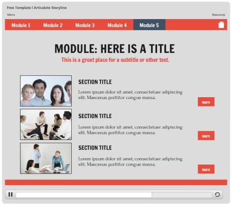 Storyline 2 Slider Timeline Template Timelines Pinterest - online quiz templates