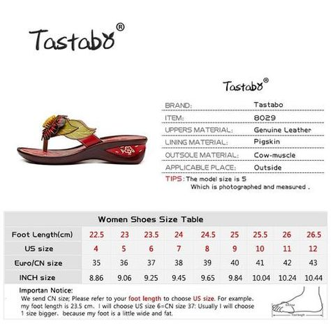 e81fdd94f Tastabo Brand Fashion Flip Flops Low Wedges Handmade Flower Slides Genuine  Leather Slippers For Women Outdoor Slippers Shoes-Touchy Style -01-4-TouchyStyle