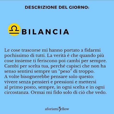 """""""Mi piace"""": 847, commenti: 1 - libra⚖💜 (@bilancia_oroscopo) su Instagram: """"Post di @aforismiyellow ♎♎ #Bilancia #oroscopo #libra #follow4follow #followforfollow #likeforlike…"""""""