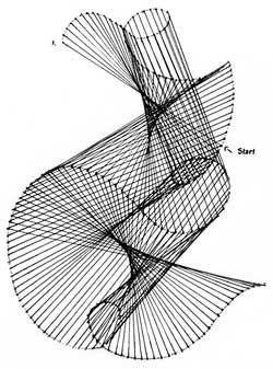 Straight Line Art Patterns