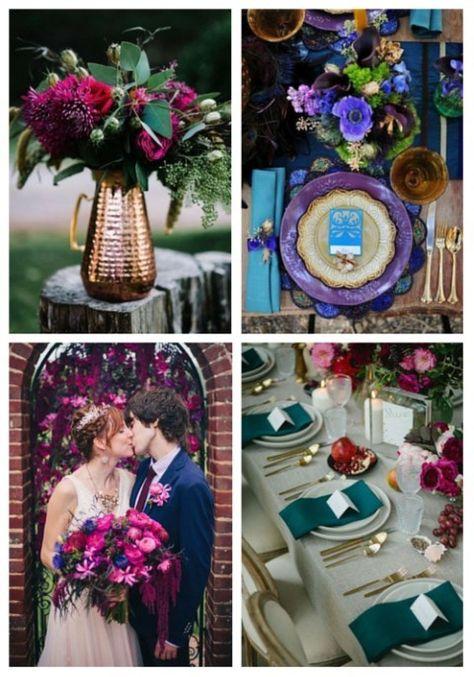 70 Bold Jewel Tone Wedding Ideas