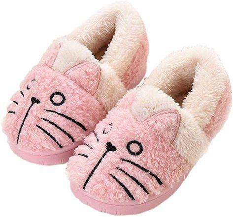 Girls Slippers Winter Kids House Slippers Boys Plush Warm Indoor Shoes Soft  Women Memory Foam Slippers Comfort Men Mule Size  Amazon.co.uk  Shoes   Bags 5ff3077729