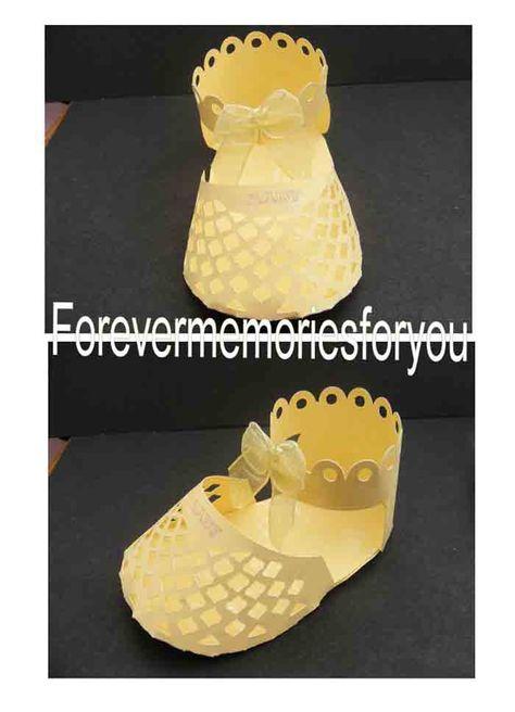 Craft Robo Gsd File Template Baby's Latticed Sandal