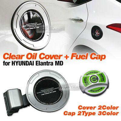 For Hyundai 2011 2016 Elantra Md 2011 2012 2013 2014 2015 2016 Hyundai Elantra Md Tuning Clear Oil Cover Assembly Fuel Ca Elantra Cover Hyundai Elantra