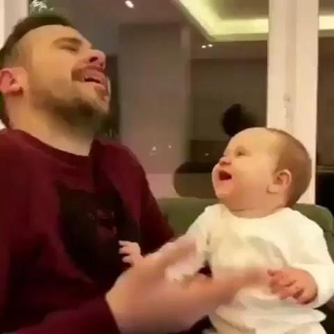 Baby and his dad