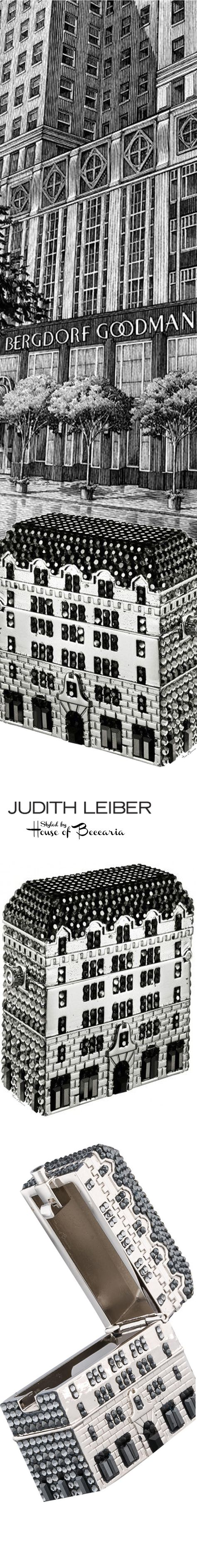 ~Australian Crystal Encrusted Pill Box Designed By Judith Leiber. A Bergdorf Goodman Exclusive, Designed In The Shape Of Their Iconic Building Located at 754 5th Ave., NYC | House of Beccaria