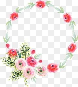 Wreath Png Vector Psd And Clipart With Transparent Background For Free Download Pngtree Hand Embroidery Patterns Flowers Wreath Watercolor Art Drawings Simple