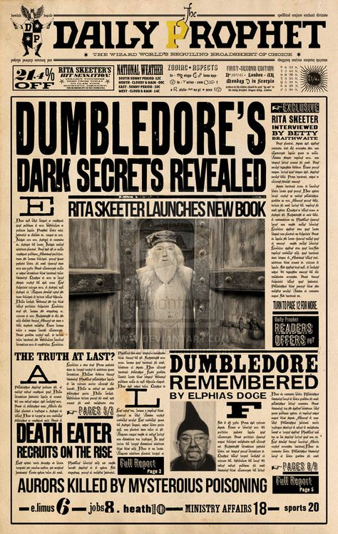 Harry Potter free paper props - all movies and more! - Page 275