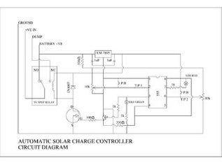 Diy Automatic Solar Charge Controller Circuito Circuito Eléctrico Energía Alternativa