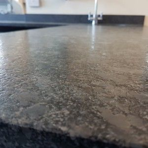 Steel Grey Leathered Granite Elements Interiors Granite Countertop Design Grey Granite