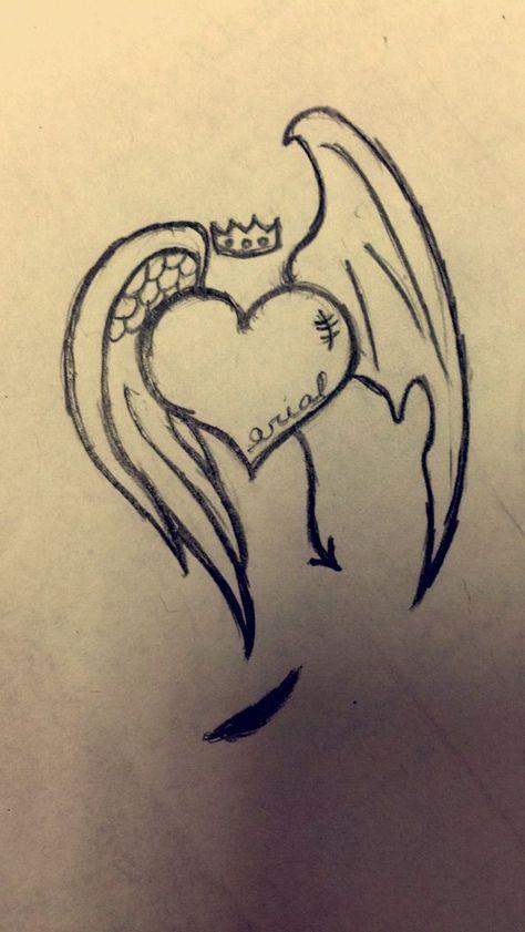 Angel's heart  #angel #heart
