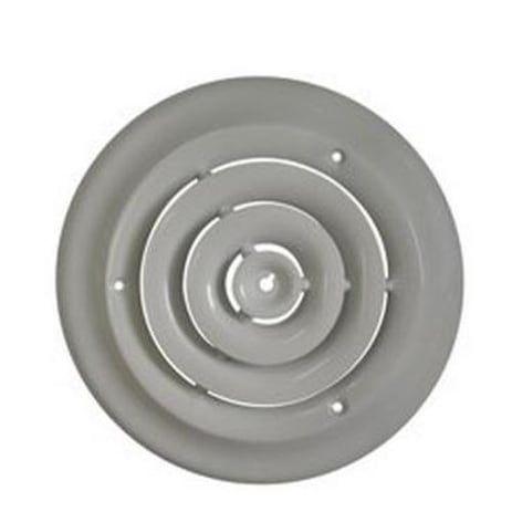 Mintcraft Srsd06 Round Ceiling Diffuser 6 Whtie White