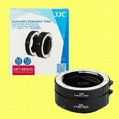 Ad Jjc 10mm 16mm Macro Extension Tube Set For Sony E Mount 35mm Full Frame Fe Lens In 2020 Sony E Mount Sony Lenses Lens