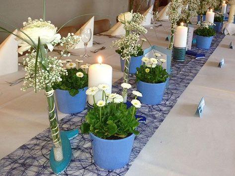 List Of Pinterest Tischdeko Taufe Junge Blumen Ideas Tischdeko