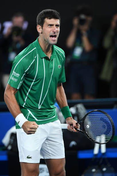 Novak Psychological Resilience Deity Novak Djokovic Vs Dominic Thiem Australian Open 2020 Final In 2020 Novak Djokovic Tennis Players Australian Open