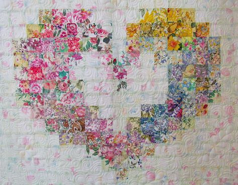 Floral Wreath Quilt Paper Foundation Pattern By Mh Designs Mh922