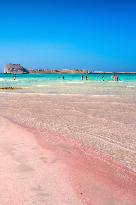 Balos Beach, Chania, Crete Try and count the colours of this amazing beach. You'll never finish! Places To Travel, Places To See, Balos Beach, Travel Around The World, Around The Worlds, Magic Places, Dream Vacations, Summer Vacations, Crete Greece