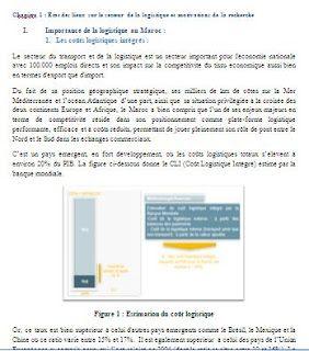 Rapport De Stage Logistique En Entrepot Rapport De Stage
