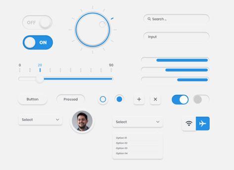 50+ Best Neumorphic Design Freebies (UI Kits, Icons, Frameworks) For Trending Neumorphism UI Design - 365 Web Resources