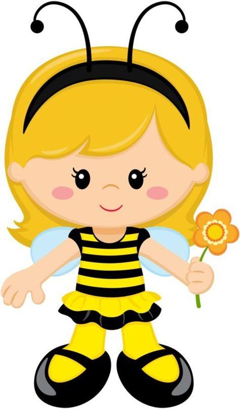 Пчелки девочки картинки