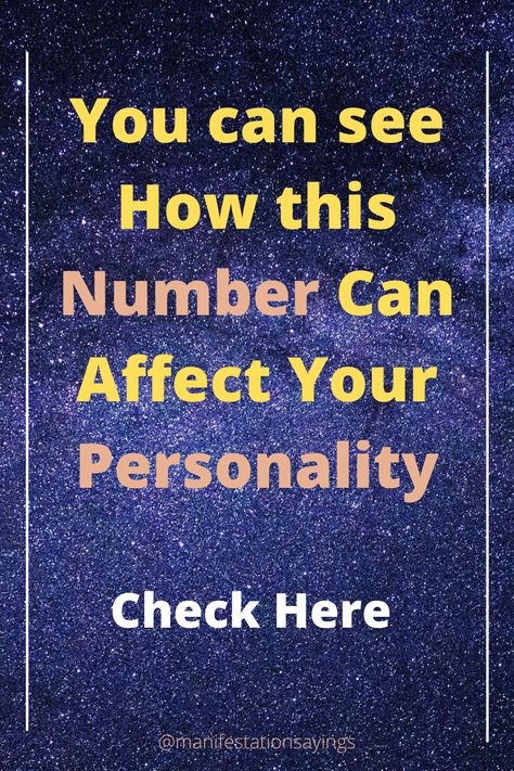 In This Pin You Will LEarn About How Numbers can Affect Your Personality ? | Guide To Numerology #numerology #divination #soultruthgateway #destiny #spirituality #numerologychart #lifepathcalculator #Lifepathnumber #lifepath
