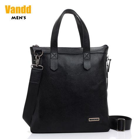 Aliexpress.com : Buy Vandd Men's Black Genuine Leather Zip around Tote Handbag Fashion Casual Shoulder Messenger Bag from Reliable men shoulder bag suppliers on Vandd Men. $69.00