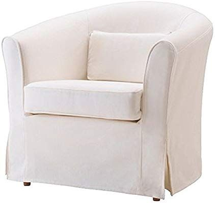 Amazon Com Easy Fit The Ektorp Tullsta Chair Cover Replacement Is Custom Made For Ikea Tullsta Cover A Armc Slipcovers For Chairs Slipcovered Sofa Slipcovers