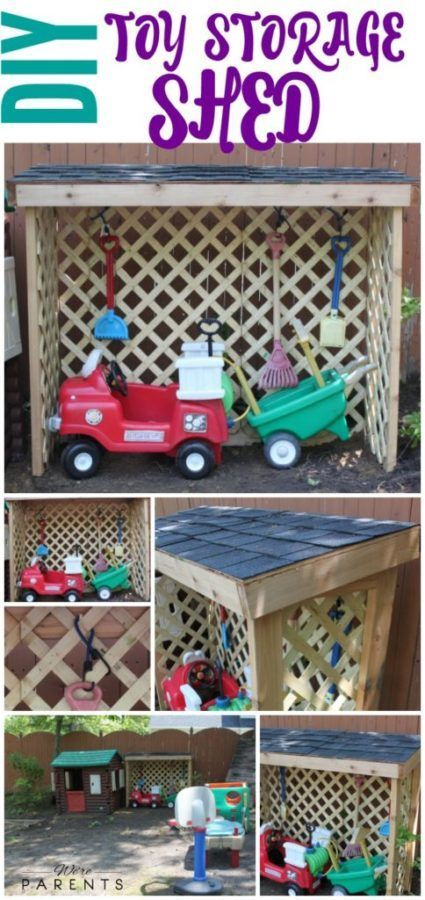 25 Useful Outdoor Toy Storage Ideas To Keep Your Family Organized Kids Toy Organization Outdoor Toys For Kids Diy Outdoor Toys