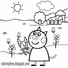 Free Coloring Pages Printable Pictures To Color Kids Drawing Ideas Cartoon Peppa Pig Printable Peppa Pig Coloring Pages Peppa Pig Colouring Peppa Pig Pictures