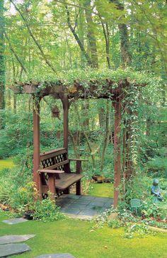Adding Beauty To Your Garden With An Arbor En 2020 Pergola