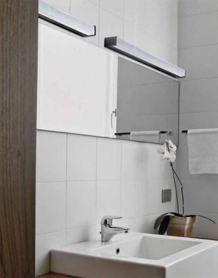 Kinkiet Do łazienki Peter 90 Chrom Led Ip44 Azzardo