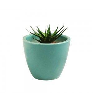 Decardo Blue Ceramic Table Top Planter 2 Buy Plant Pots Planters Planter Pots